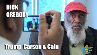 Dick Gregory - On Donald Trump, Ben Carson & Herman Cain