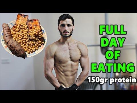 Vegan Full Day of Eating on a Bulk| Vegan bodybuilding meals