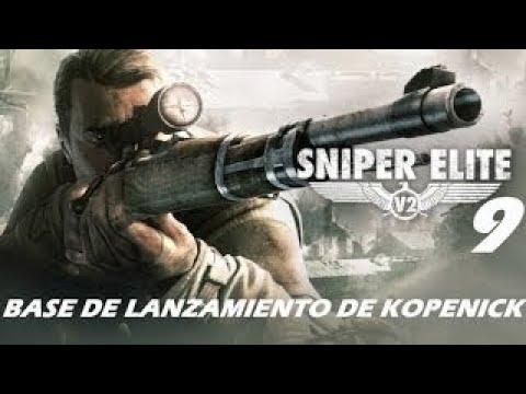 SNIPER ELITE V2 | BASE DE LANZAMIENTO DE KOPENICK | GAMEPLAY ESPAÑOL
