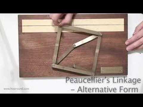 Peaucellier's linkage in an alternative form (www....