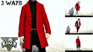 GTA Online: 1 Overcoat 3 Outfits | 3 Ways