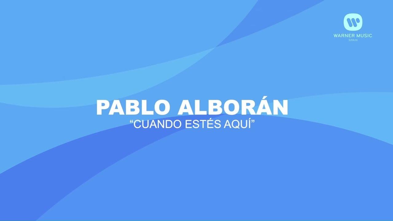 Pablo Alborán - Cuando estés aquí (Karaoke En Casa)