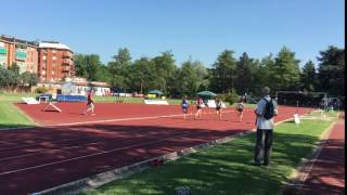 80 m Cadette FerraraMeeting 2017