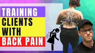 Programming Training Sessions for People With Back Pain