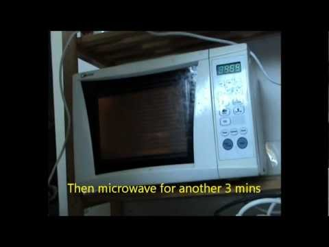 Cook sticky rice in 8 mins - Cách nấu xôi bằng lò vi sóng