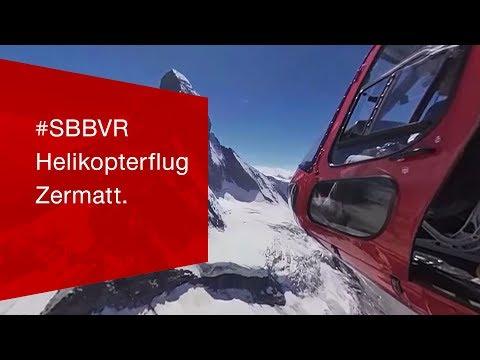 Premiere: Die offizielle SBB 360° VR APP ist online!
