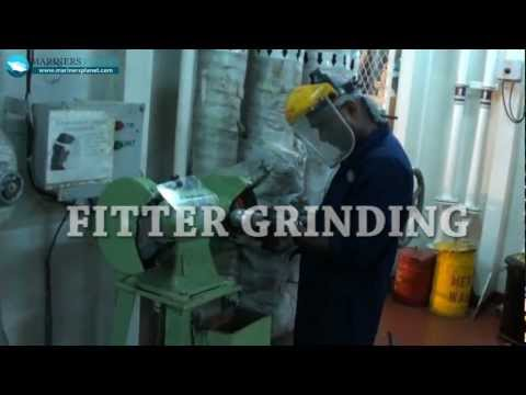 MERCHANT SHIP FITTER GRINDING