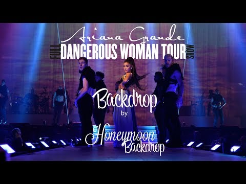 Ariana Grande - Dangerous Woman Tour - Backdrop [Full Concert] (Basic Version)