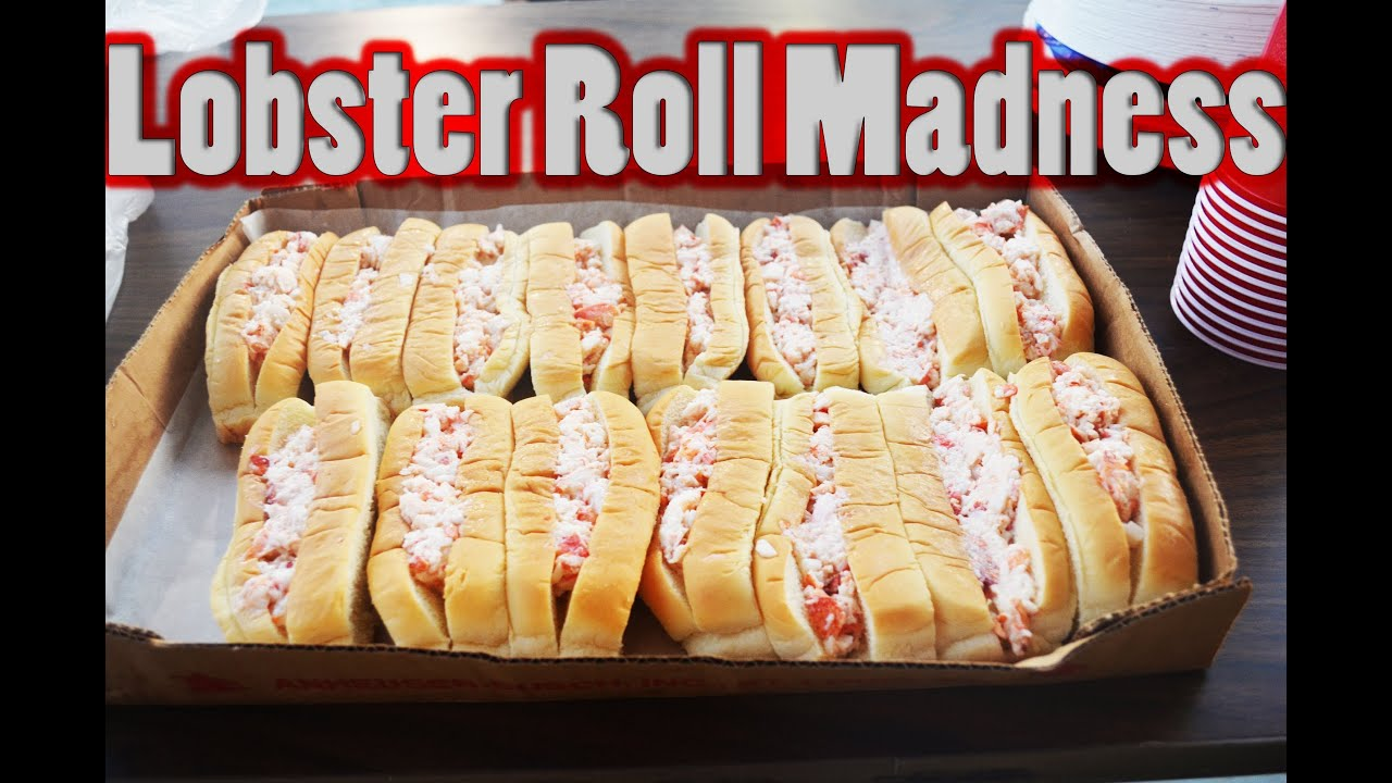 "Jamie ""The Bear"" McDonald & The Bangor State Fair Lobster Roll Eating Contest! - YouTube"