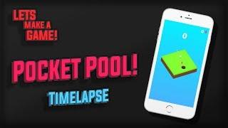 Pocket Pool REMAKE Timelapse | Lets Make A Game!