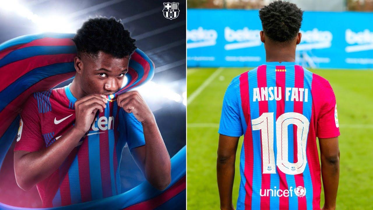 Ansu Fati signs long-term Barcelona contract through 2027, includes ...