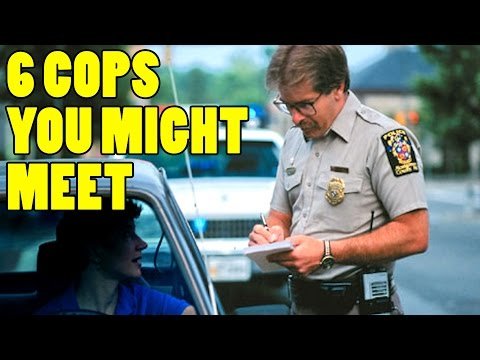 The 6 Cops that Might Pull You Over