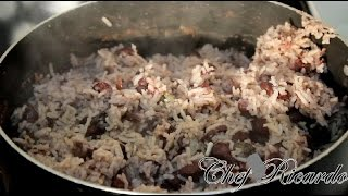 Caribbean Rice And Peas With Coconut Milk | Recipes By Chef Ricardo