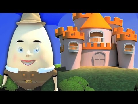 Humpty Dumpty Sat On A Wall  Poem | Childrens Nursery Rhyme | Baby Song