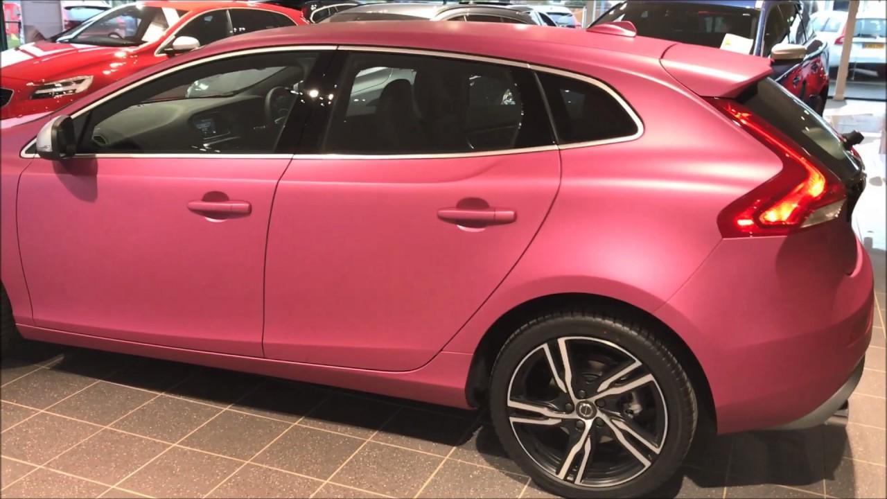 Rybrook Volvo Pink V40 R-Design - YouTube
