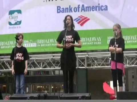 """MARY POPPINS: """"Practically Perfect"""" - Live from Bryant Park (Laura Michelle Kelly as Mary)"""