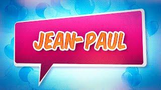 Joyeux anniversaire Jean-Paul