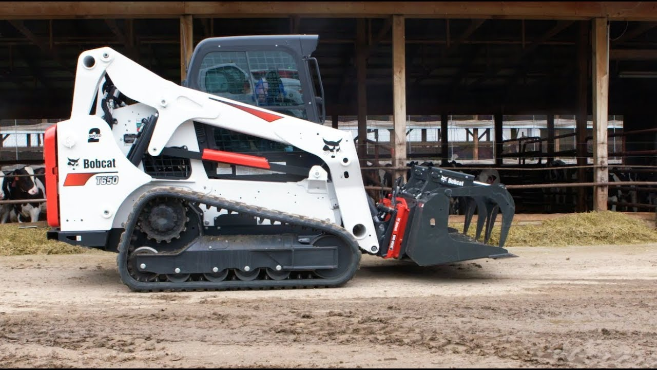 Bob-Dock Attachment Mounting System: Agriculture Application