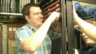 CSC Information Technology: Server Rack Installation (choose 720/1080p for high definition)