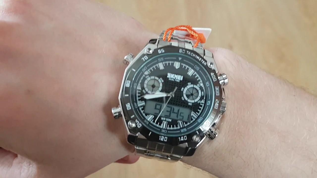 ef59b278 Мужские часы Skmei Direct / 1204. Как настроить, инструкция. Видео обзор!