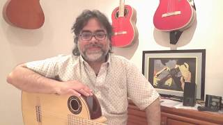 Where to start ? /Q&A 9 flamenco guitar Ruben Diaz (join Skype lessons)