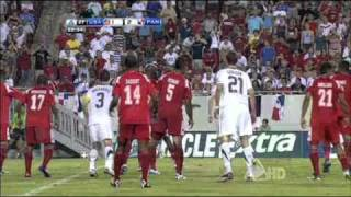 CONCACAF Gold Cup Group C USA vs Panama Highlights - 06/11/2011