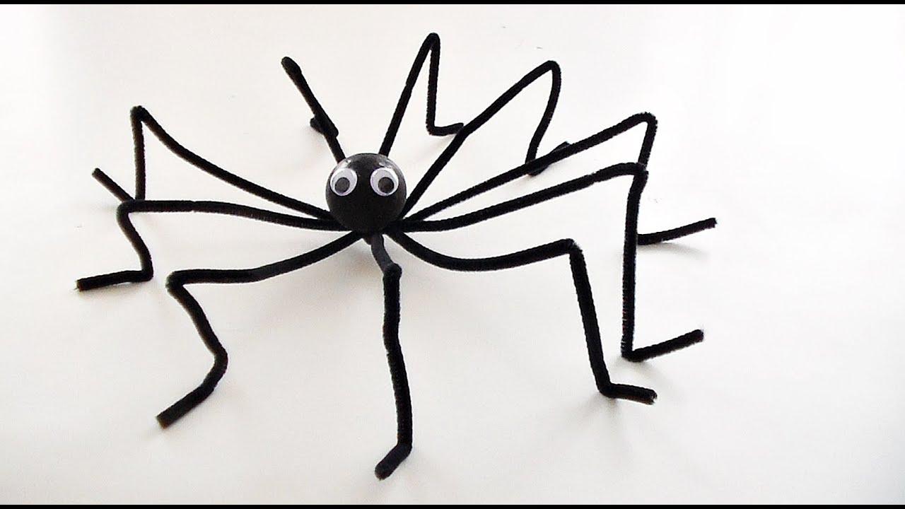 bricolage halloween comment fabriquer une araign e