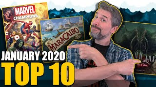 Top 10 Hottest Board Games: January 2020