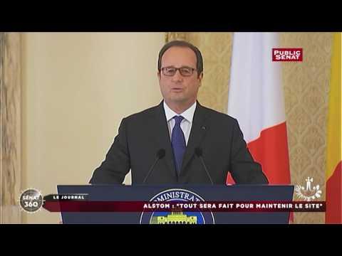 Alstom : Hollande assure que « tout sera fait pour que le site de Belfort puisse être pérennisé »