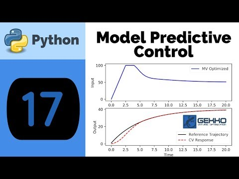 Model Predictive Control with Python GEKKO - YouTube