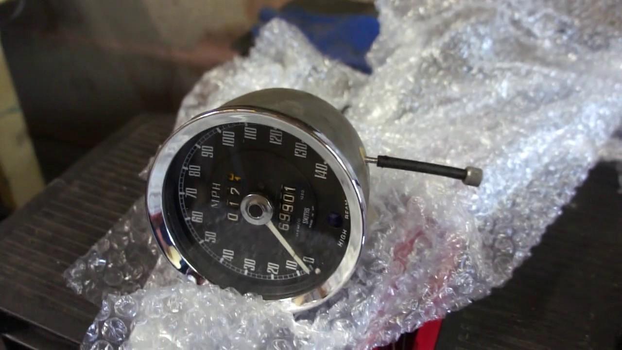 1968 MGC Speedometer Fix