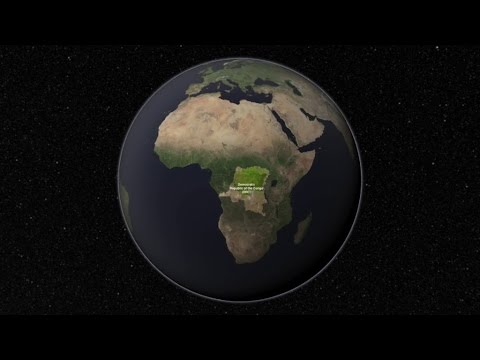 Congo - Mapping the Future With Landsat Satelite #CoongoTv