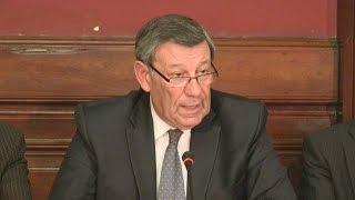 بالفيديو..كلمات حاسمة من وزير خارجية أوروجواي لسجين سوري تحثه على..؟!!