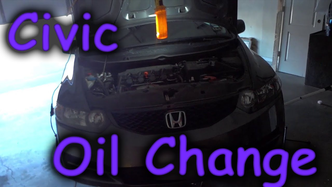 honda civic oil change 2006 2011 [ 1280 x 720 Pixel ]
