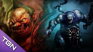 Dota 2 vs HotS Pudge vs Stitches