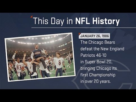 Chicago Bears Win Super Bowl XX | This Day In History (1/26/86) | NFL