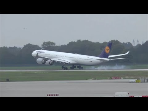 [HD MOVIE] Spotting weekend at Munich Airport - Day 2: Nordbahn