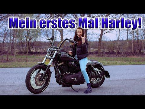 Ich fahre zum erstem Mal Harley Davidson ! #harley