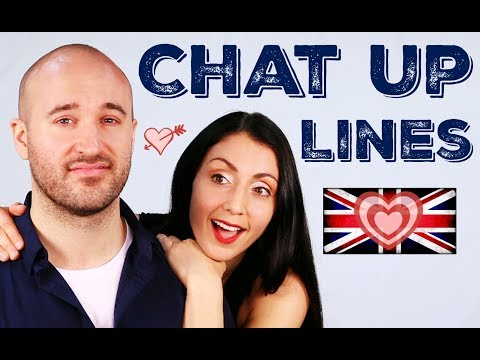 Chat Up Lines / Pick Up Lines - Learn British English (Anna English feat Papa Teach Me)