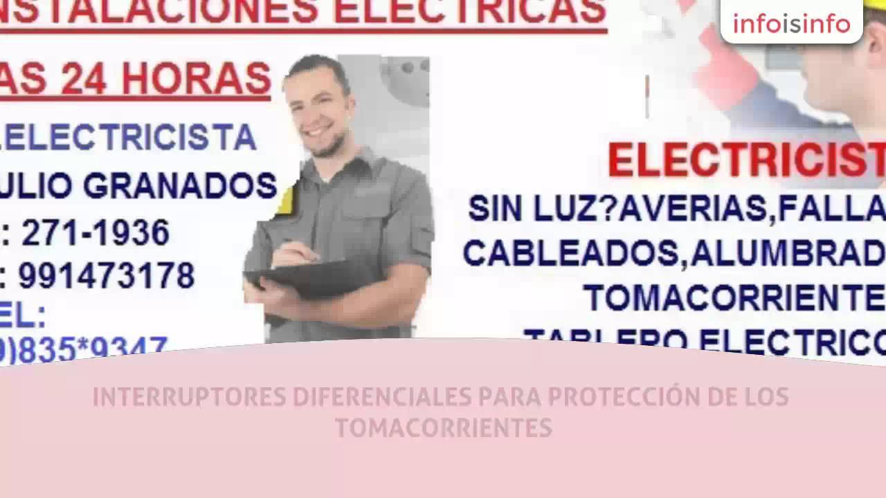 Electricidad en lima ab electricista a domicilio - Electricista a domicilio ...