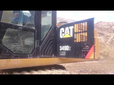 PURE HYDROGEN ASSISTED CATERPILLAR 349D EXCAVATOR