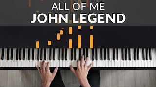 Download lagu John Legend - All of Me | Tutorial of my Piano Cover + Sheet Music