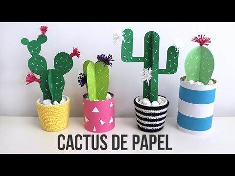 Flores Para Decorar Cactus