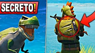 *SEASON 6* NEW SECRET OF THE DINOSAURIOS! at FORTNITE: Battle Royale
