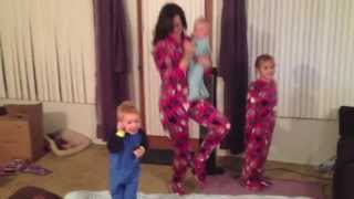 FOOTIE PAJAMA DANCE PARTY!