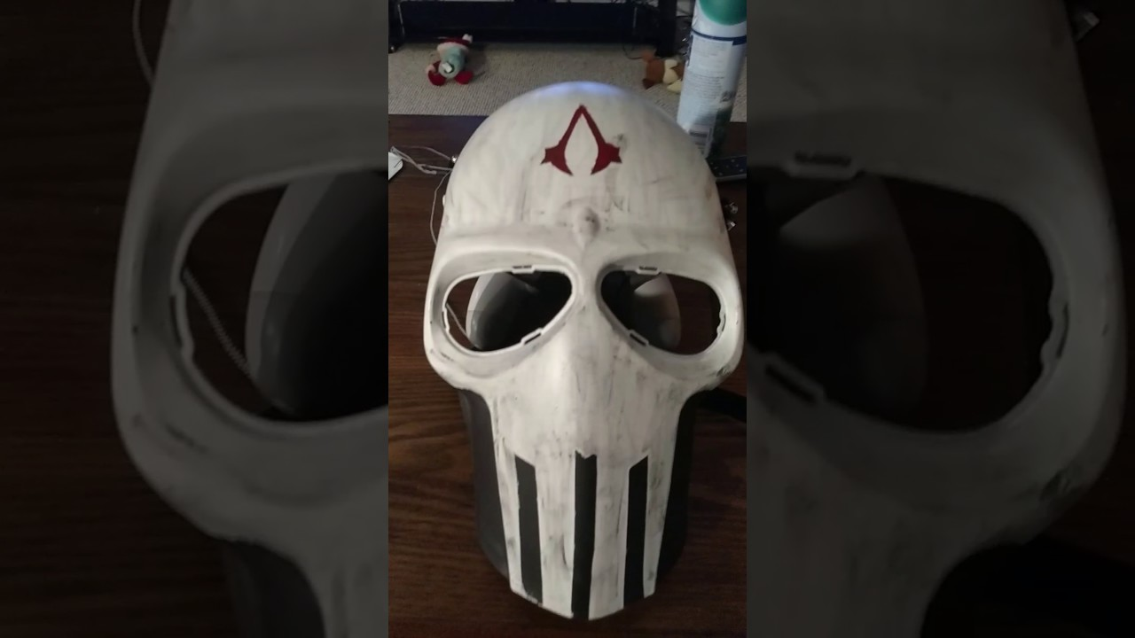 Assassins Creed Airsoft Mask Youtube