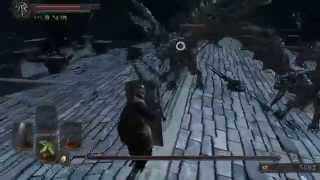 Dark Souls 2 pc gameplay BELFRY GARGOYLE boss fight 3rd try