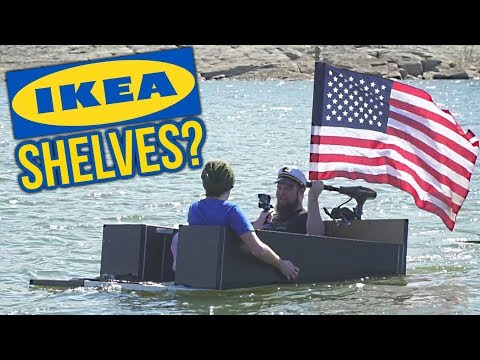 Making boats using only Ikea products
