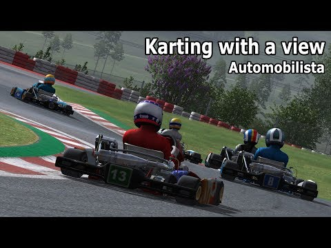 Automobilista beta: Karting with a view! (125 cc @ Buskerud)