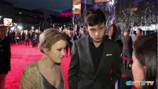 Taylor Spreitler & Nick Robinson Interview: 2013 People's Choice Awards